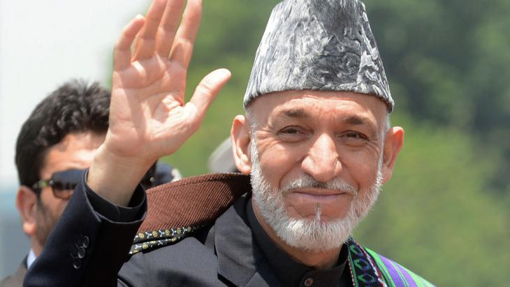 Afghanistan′s former president, Hamid Karzai (photo: RAVEENDRAN/AFP/Getty Images)