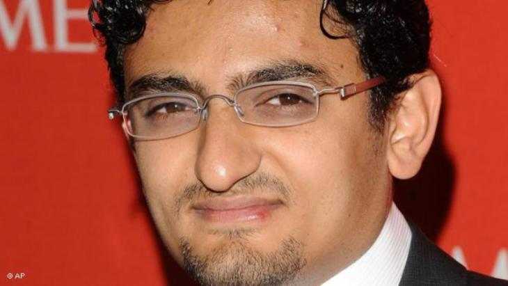 Internet activist Wael Ghonim (photo: AP)