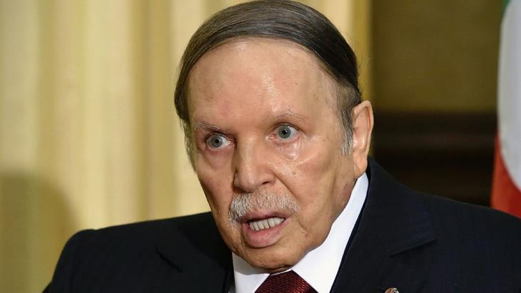 Algerian president Bouteflika (photo: Getty Images/AFP/E. Feferberg)