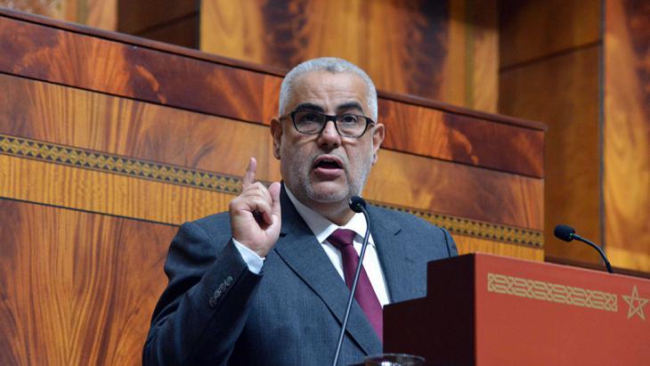 Incumbent Moroccan Prime Minister Benkirane (photo: picture-alliance/AA/M. Houbais)