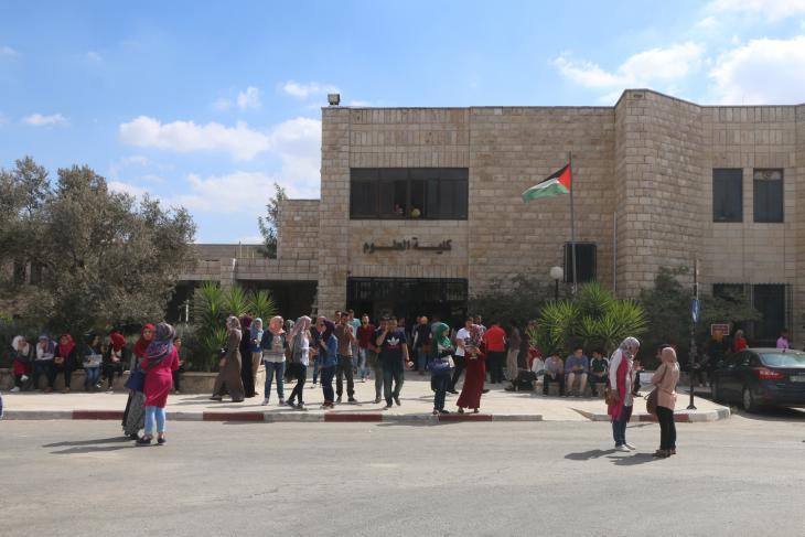 Birzeit University near Ramallah (photo: Ylenia Gostoli)