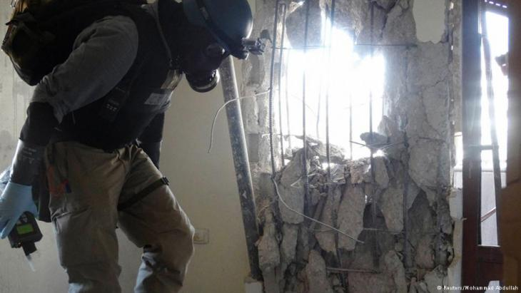 UN inspector investigating use of poison gas by the Assad regime in Syria