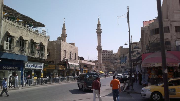 Husseini Mosque in downtown Amman, Jordan (photo: Freedom's Falcon, Creative Commons)