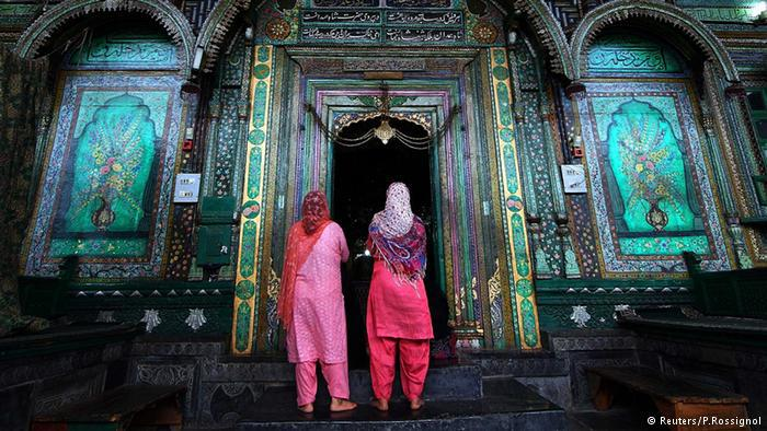 Muslim Indian women in Kashmir