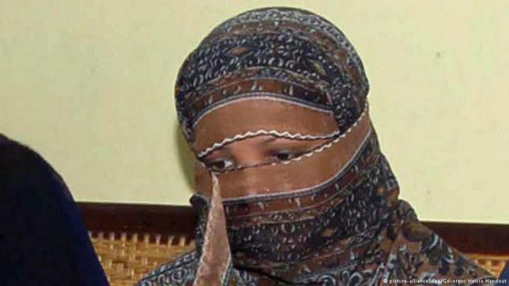 Asia Bibi, a Pakistani Christian, convicted of insulting the Prophet Muhammad in an argument with Muslim women