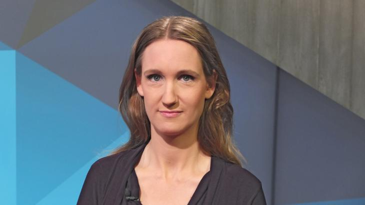 Political scientist and journalist Kristin Helberg (photo: DW)