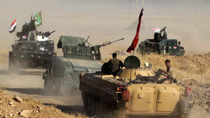 Iraqi army units advancing on Mosul (photo: Ahmad Al-Rubaye/AFP/Getty Images)