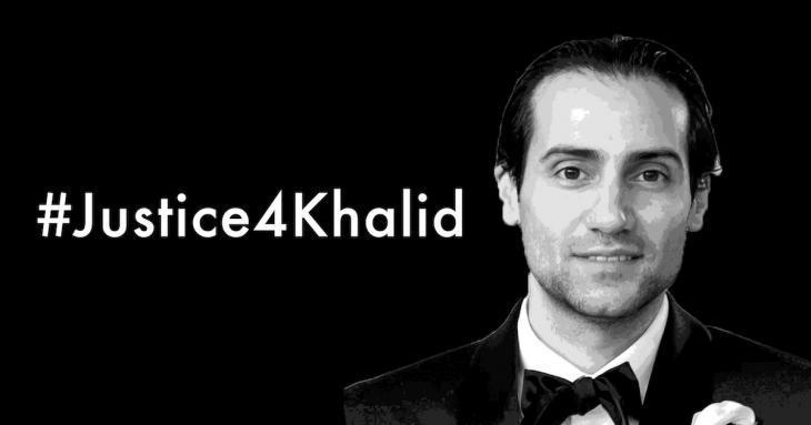 Solidarity campaign for Khalid Jabara (source: Arab American Institute)