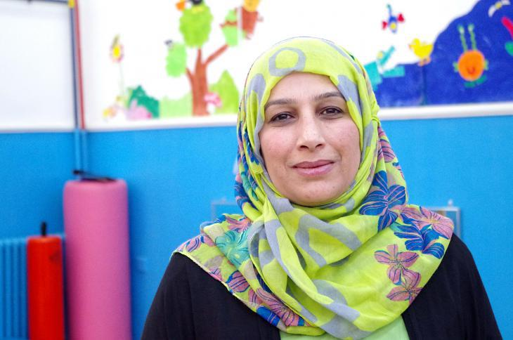 Psychologist Salwa Jarah (photo: Claudia Mende)
