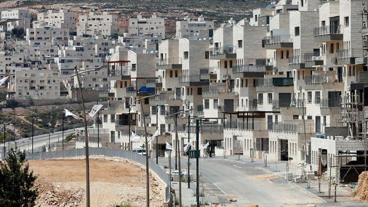 Givat Zeev settlement near the West Bank city of Ramallah (photo: Getty Images/AFP/T. Coex)
