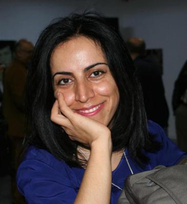 Kurdish journalist Hatice Kamer (photo: Sonja Galler)
