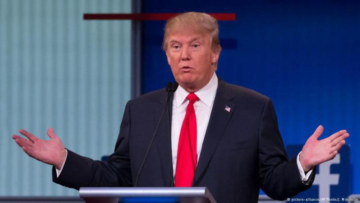 America′s president elect, Donald Trump (photo: picture-alliance/AP)