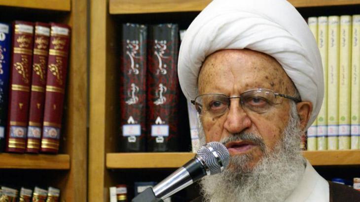 Makarem Shirazi, Iranian Shia cleric and Mojtahed in Qom (photo: IRNA)