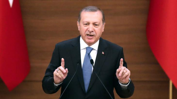 Turkish president Recep Tayyip Erdogan (photo: Getty Images/AFP/A. Altan)