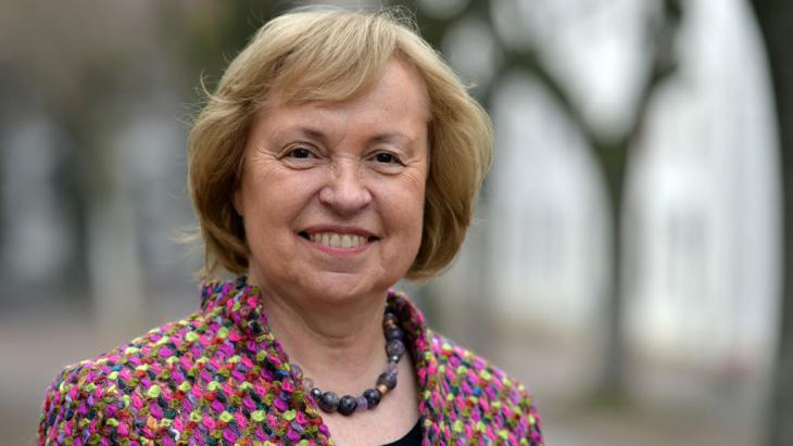Dr Maria Bohmer, Minister of State with the German Foreign Ministry (photo: picture-alliance/dpa/H. Schmidt)