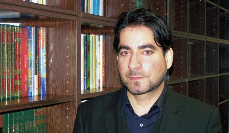 Mouhanad Khorchide, head of the Centre for Islamic Theology at Muenster University (photo: Marie Coße)