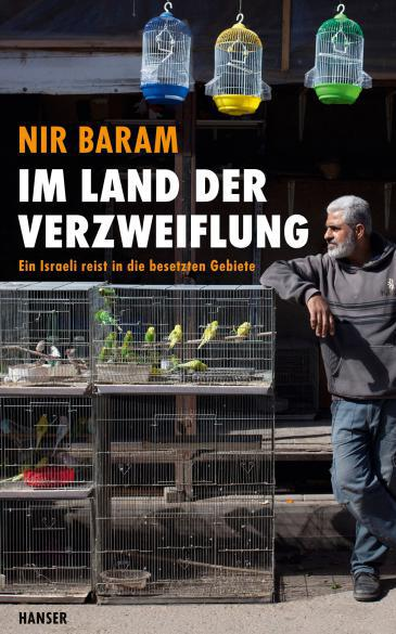 Cover of the German translation of Nir Baram′s ″In a land beyond the mountains″ (published in Hebrew by Am Oved)