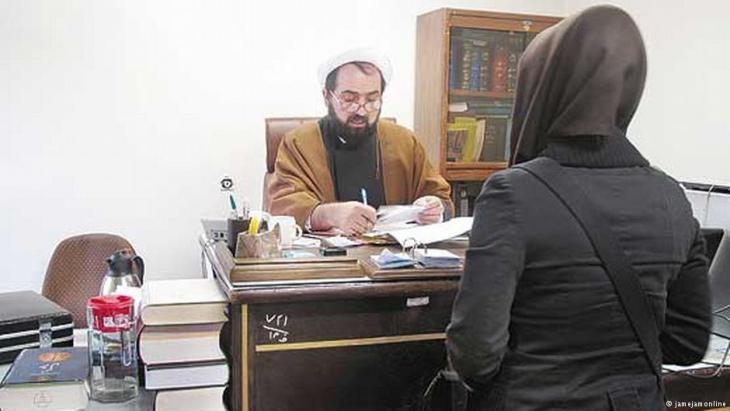 Stock image of Iranian women and male dominance (photo: Jamejamonline)