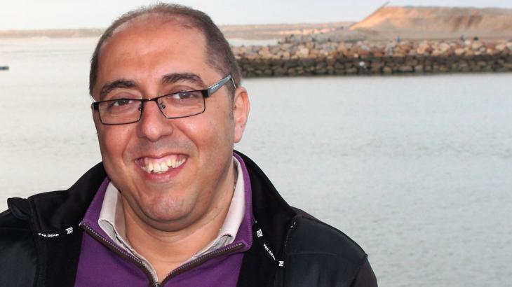 Hicham Aroud, expert on migration and development in Rabat, Morocco (photo: Martina Sabra)
