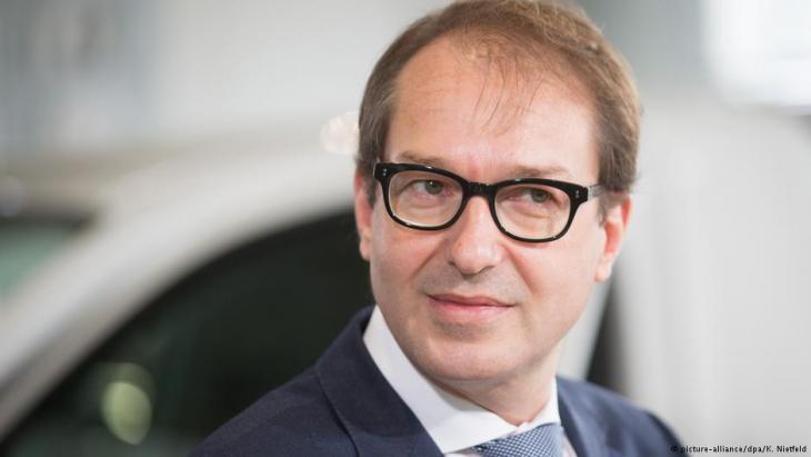 Transport Minister Alexander Dobrindt (photo: picture-alliance/dpa)