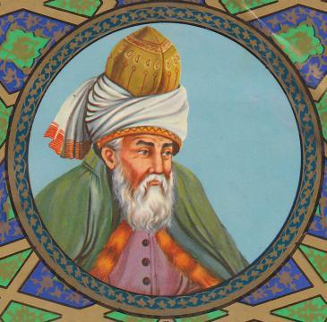 Jalal al-Din Rumi (source: Wikipedia)