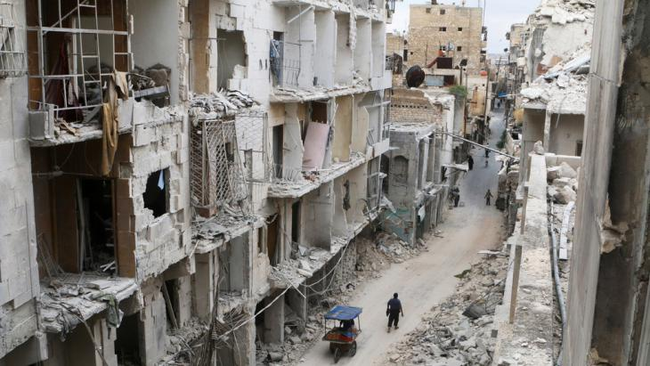 Destruction in Aleppo′s Old Town (photo: Reuters/A. Ismail)
