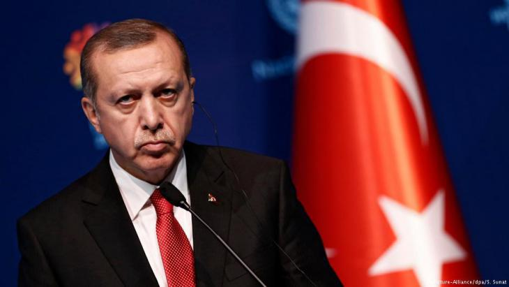 Turkish President Recep Tayyip Erdogan (photo: picture-alliance/dpa)