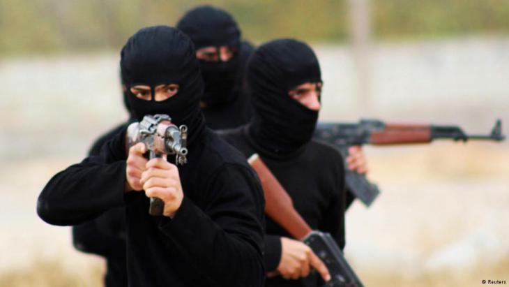 Syrian Islamists who underwent military training