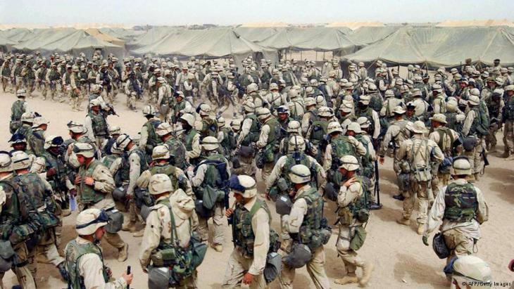US soldiers during the invasion of Iraq in 2003 (photo: AFP/Getty Images)