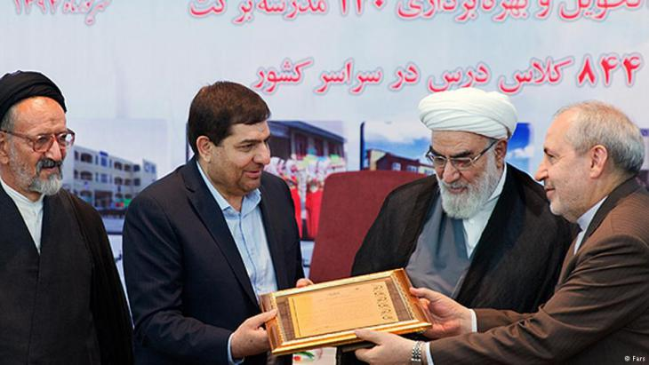 """Mohammad Mokhber is manager of """"Headquarters for Executing the Order of the Imam"""" (Setad);source:Fars"""
