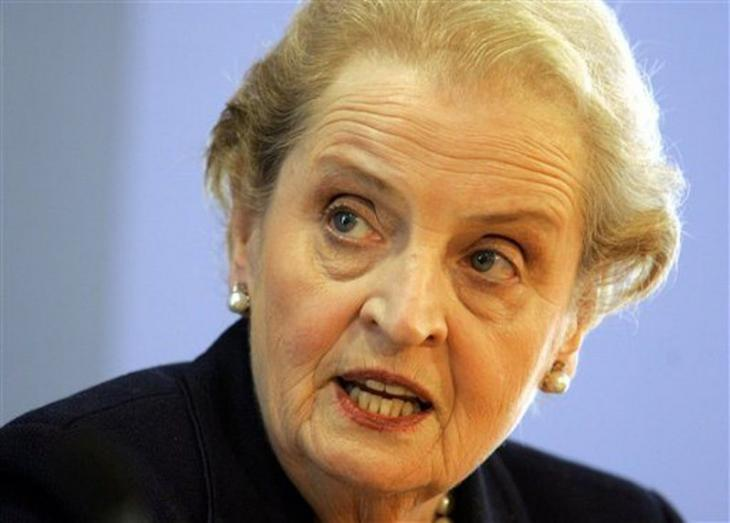 Former U.S. Secretary of State Madeleine Albright (photo: AP)