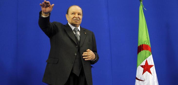 Algeria′s president, Bouteflika (photo: Mohamed Messara/EPA/pa)