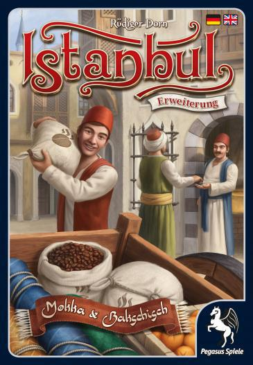 ″Mocha and Baksheesh″, the ″Istanbul″ board game extension (by Pegasus-Spiele)