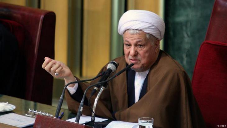 Ali Akbar Hashemi Rafsanjani (photo: dpa)