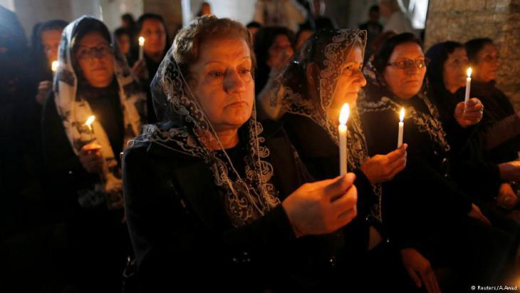Many former residents returned to their villages to celebrate Christmas (photo: A. Awad)