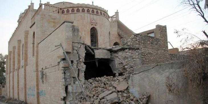 The terror militia IS destroyed numerous churches in Iraq (photo: picture-alliance/dpa/B. Schwinghammer)
