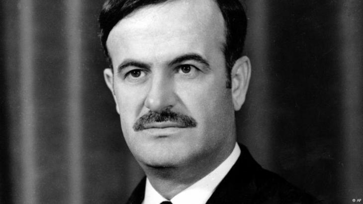 Syria′s dictator Hafiz al-Assad (photo: AP)
