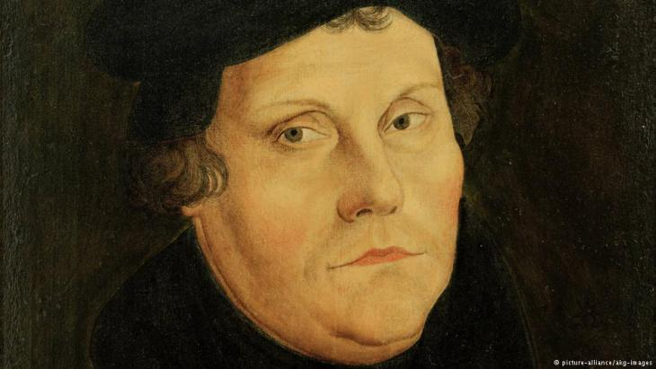 Portrait of Martin Luther (photo: picture-alliance/akg-images)