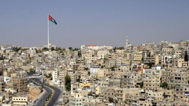 View over the Jordanian capital Amman (photo: picture-alliance)