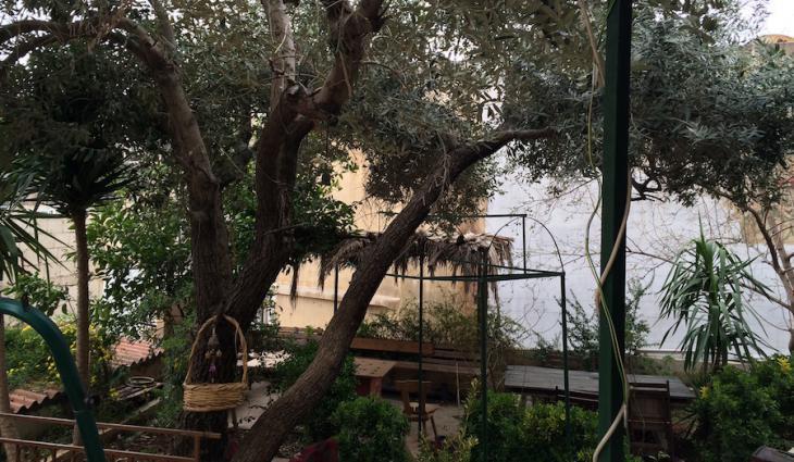 View over the inner courtyard of Naqsh in Amman (photo: Hakim Khatib /MPC Journal)