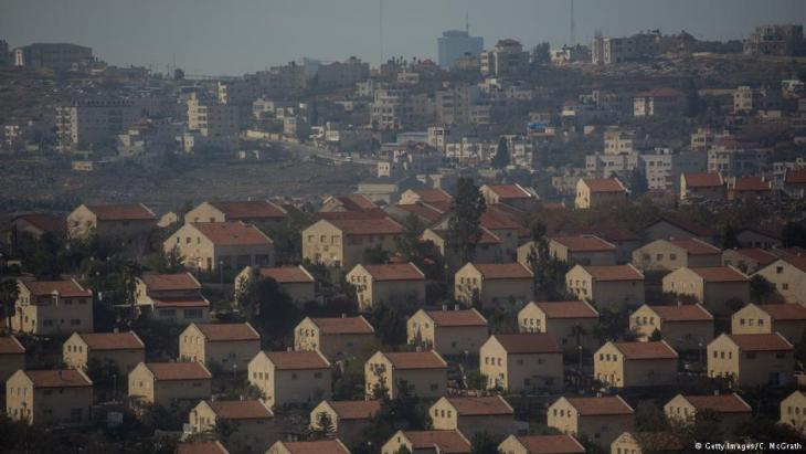 Israeli settlements at Amona in the West Bank