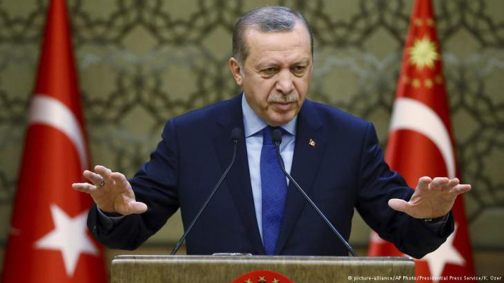 Turkish President Recep Tayyip Erdogan (photo: picture-alliance/AP)
