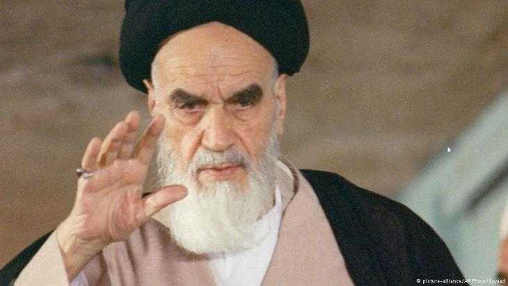 Ayatollah Khomeini (photo: picture-alliance/AP)