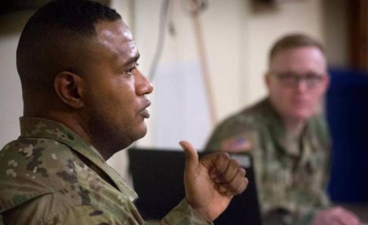U.S. army chaplain Lt. Col. Khallid Shabazz (photo: unknown)
