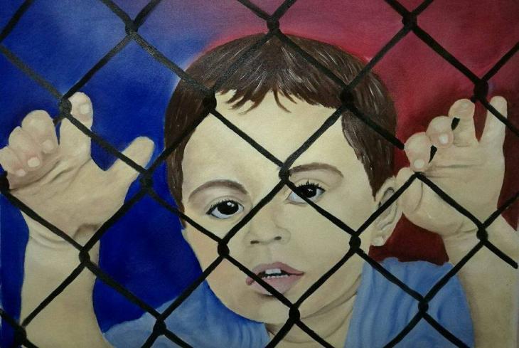 """Child on Nauru"" by Abbas Al Aboudi (photo: Abbas Al Aboudi)"