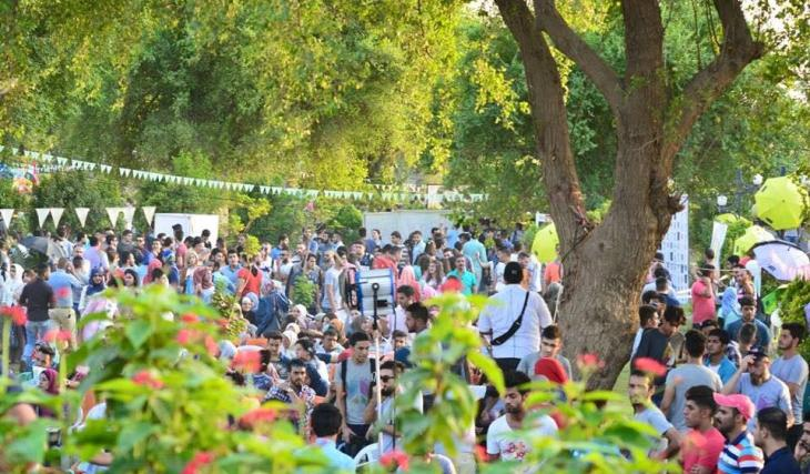 Festivalgoers attend the City of Peace Carnival in Baghdad (photo: Baghdad City of Peace Carnival)