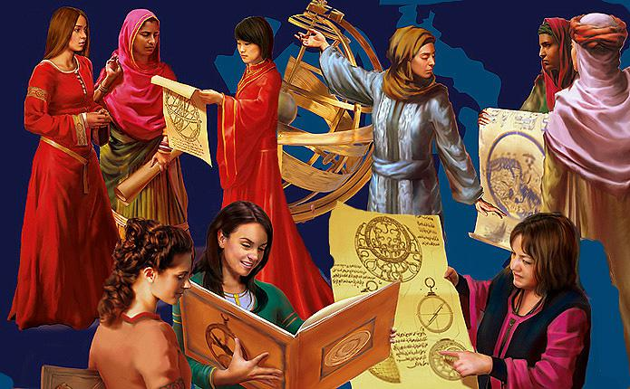 Women's contribution to classical Islamic civilisation: Science, medicine and politics (source: muslimheritage.com)