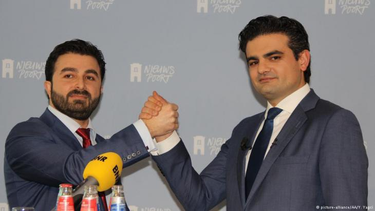 Initiators of Denk: Selcuk Ozturk (left) and Tunahan Kuzu (photo: picture-alliance)