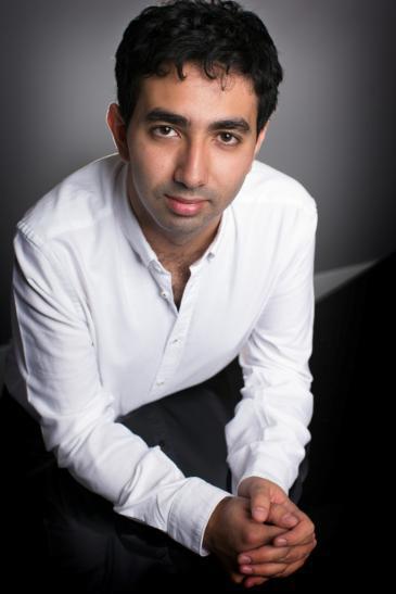 Musician Karim Said (photo: Matthew Percival)