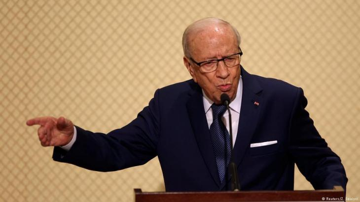 Tunisian President Beij Said Essebsi (photo: Reuters/Zoubeir Souissi)